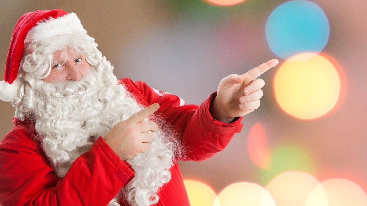 How To Make Hair Santa White
