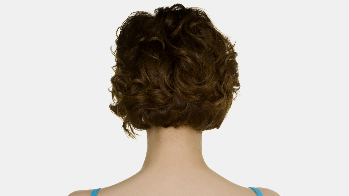 Partial Body Perm For The Back Of Short Hair