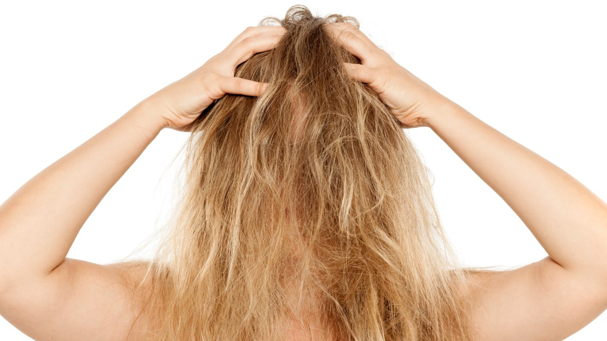 How to detangle matted or tangled hair with detangling spray