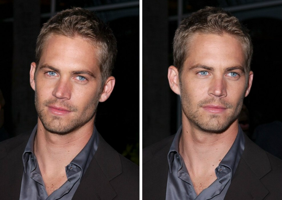 Paul Walker S Haircut Hair That Grows Close To The Scalp
