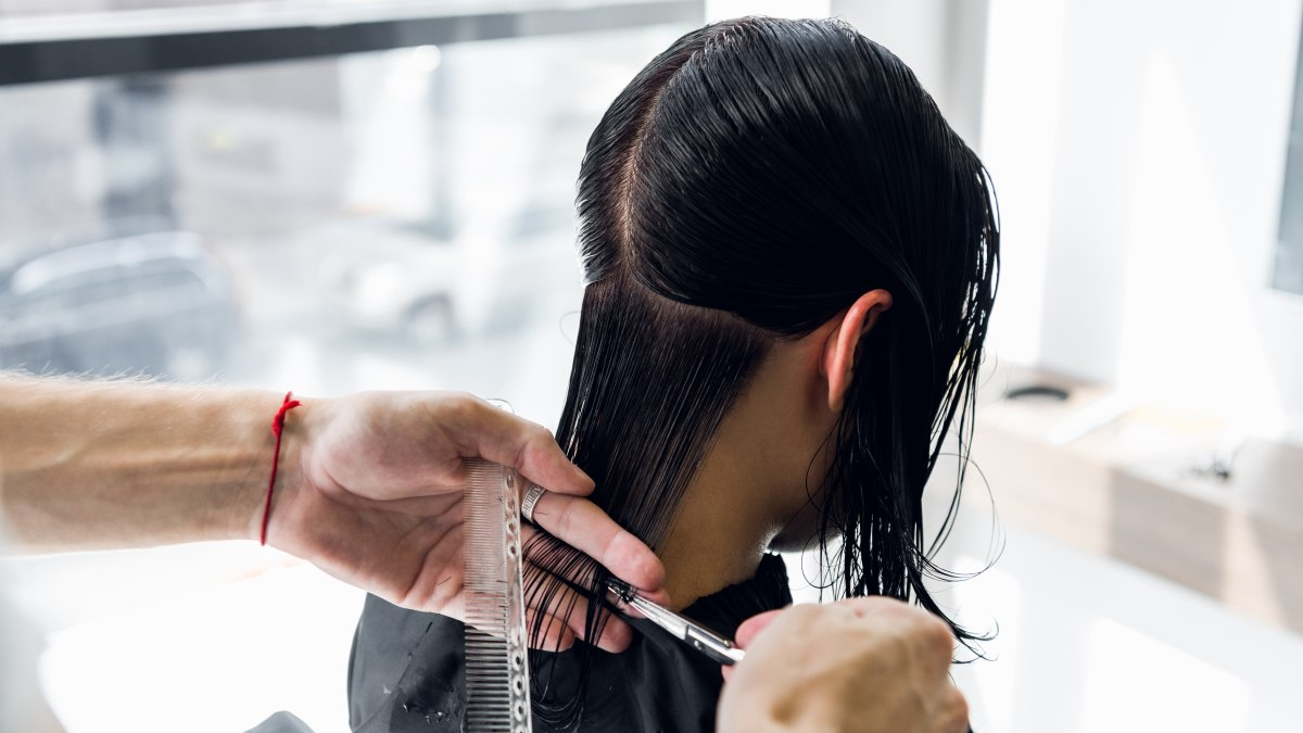 How to cut long straight and very thick hair