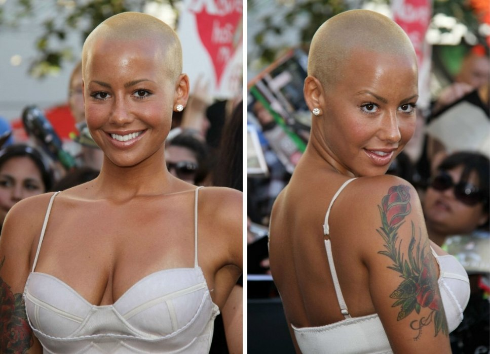 Why Amber Rose Is Bald And Making A Fashion Statement With
