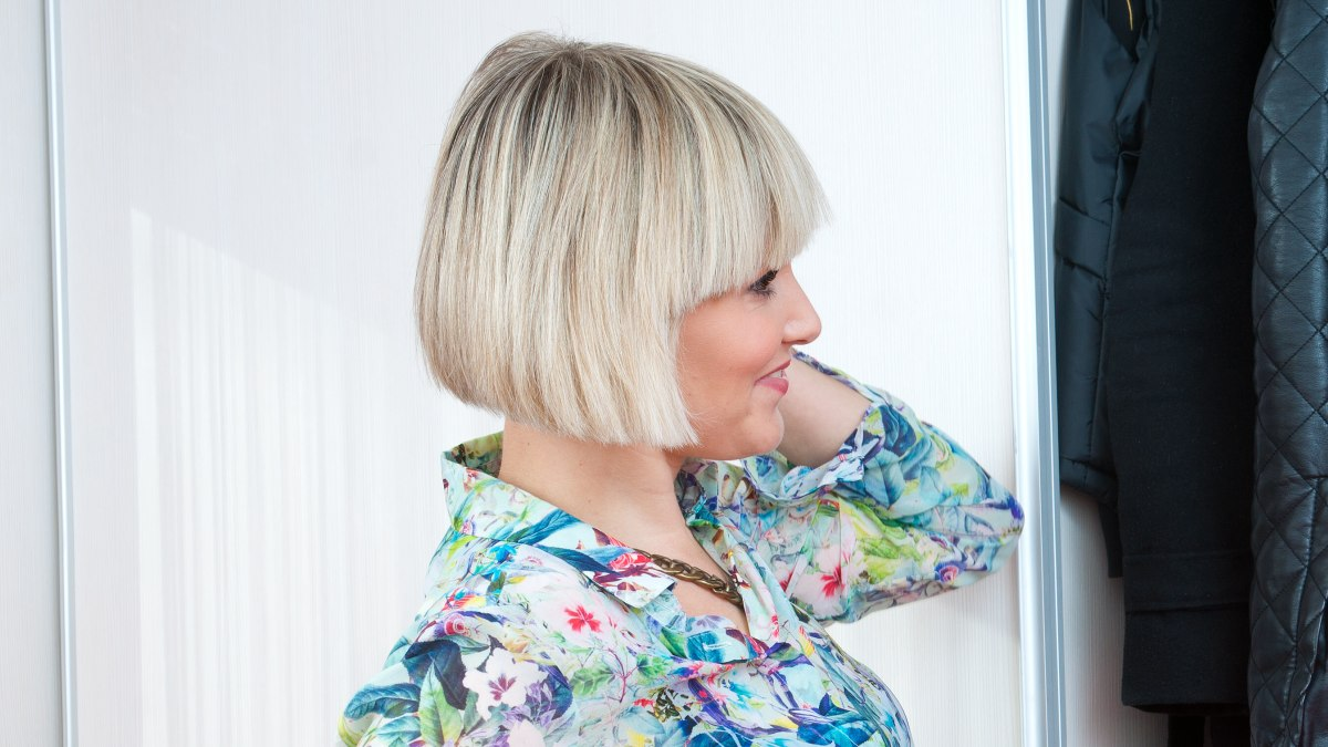 How To Grow Out A Short Angled Bob