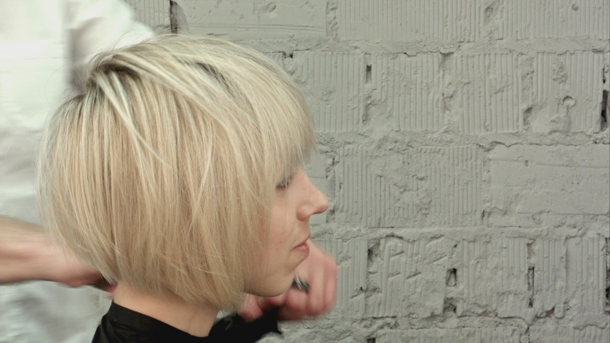 Cut Your Hair Into An A Line Bob When You Have Long Hair With Layers