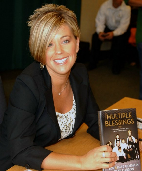 Super Kate Gosselin39S Short Hairstyle A Cross Between A Reverse Mullet Short Hairstyles Gunalazisus