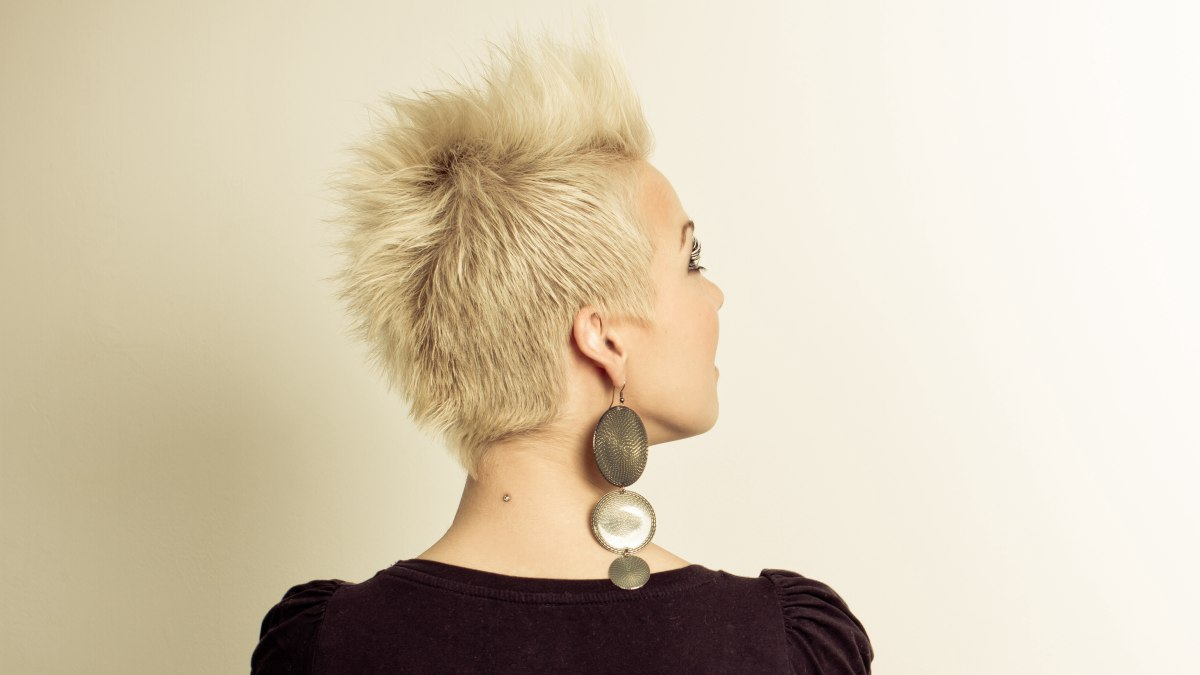 Spiky Look For Very Fine Hair And Hair Products To Make Fine Hair