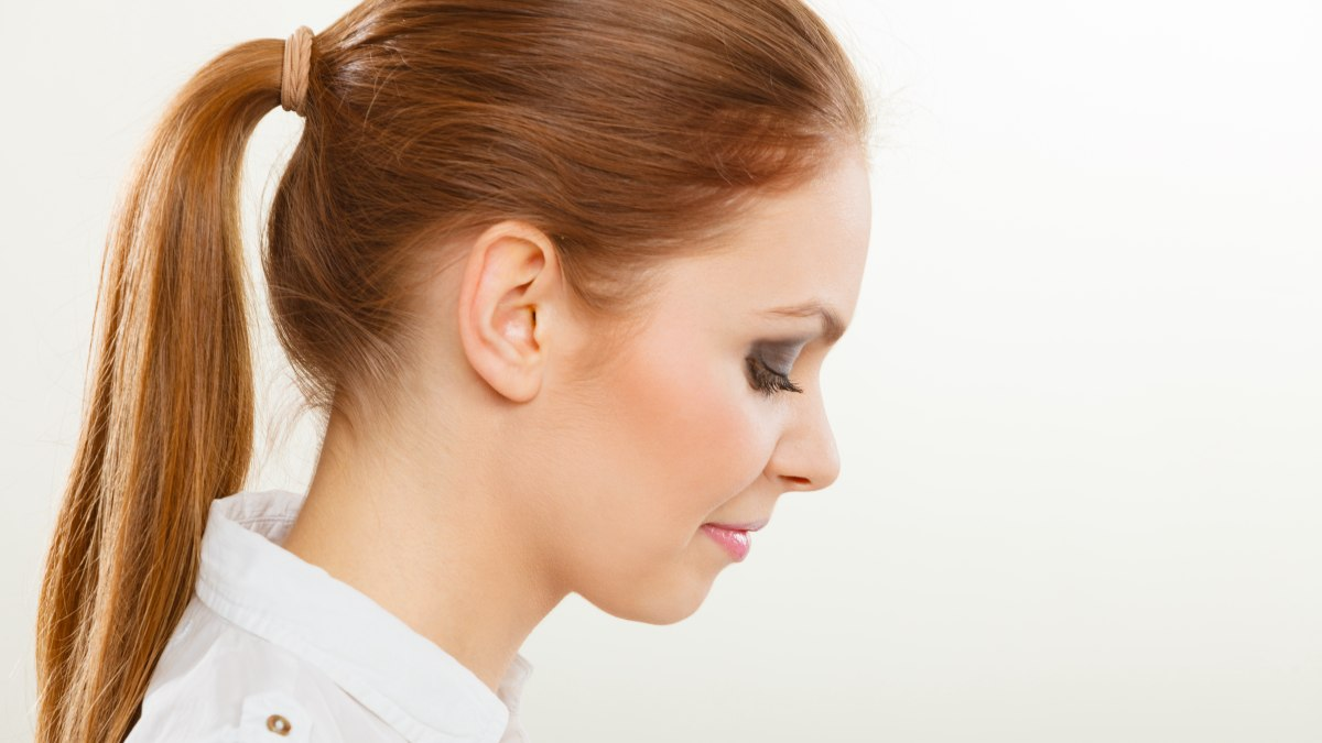How To Shave The Ugly Neck Hair When You Wear Your Hair In A Ponytail - Haircut ugly girl