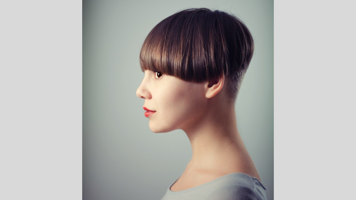 Female Hairstyle With A Very Short Buzzed Nape
