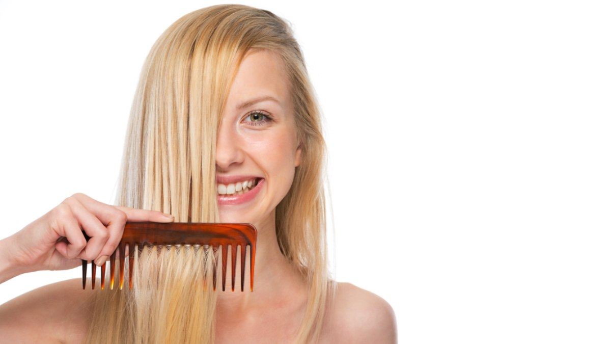 Wet brush for fine hair