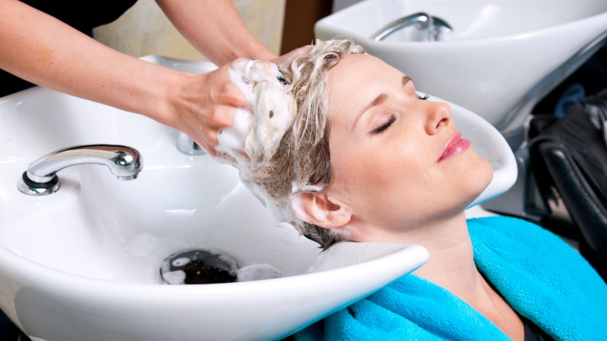 Shampoo Sink Or Hair Salon Basin Danger And Strokes