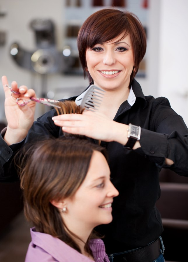 Why Do So Many Female Hairdressers Have Short Hair