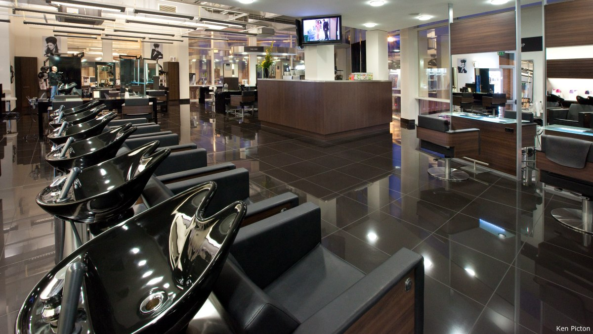 Hair Salon Furniture And Colors