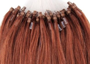 Micro Link Hair Extensions And Wefts Or Braided Extensions