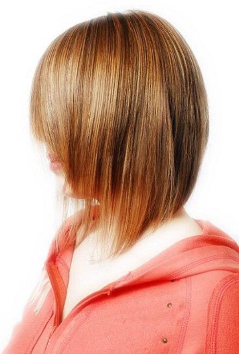 Razored ends haircut