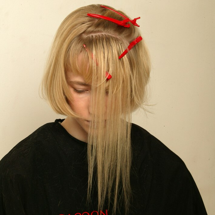 Step by step instructions for a bob created with hair extensions apply rows of hair extensions pmusecretfo Gallery