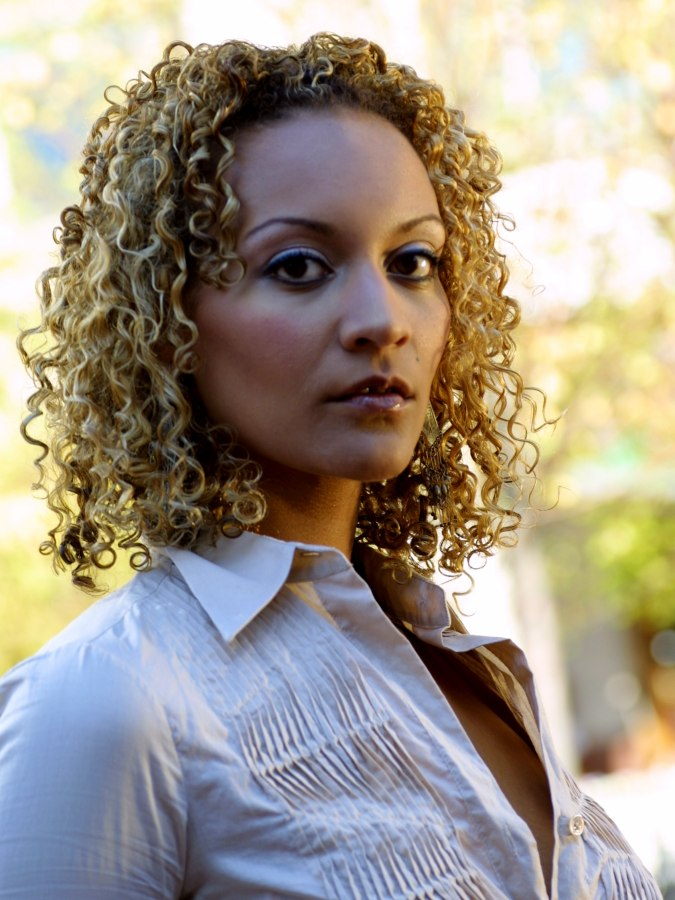 Swell Hairstyle With Slender Spiral Curls For Difficult Hair Hairstyles For Women Draintrainus