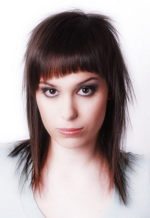 Trendy Layered Haircut With A Short Crown And A Very Short