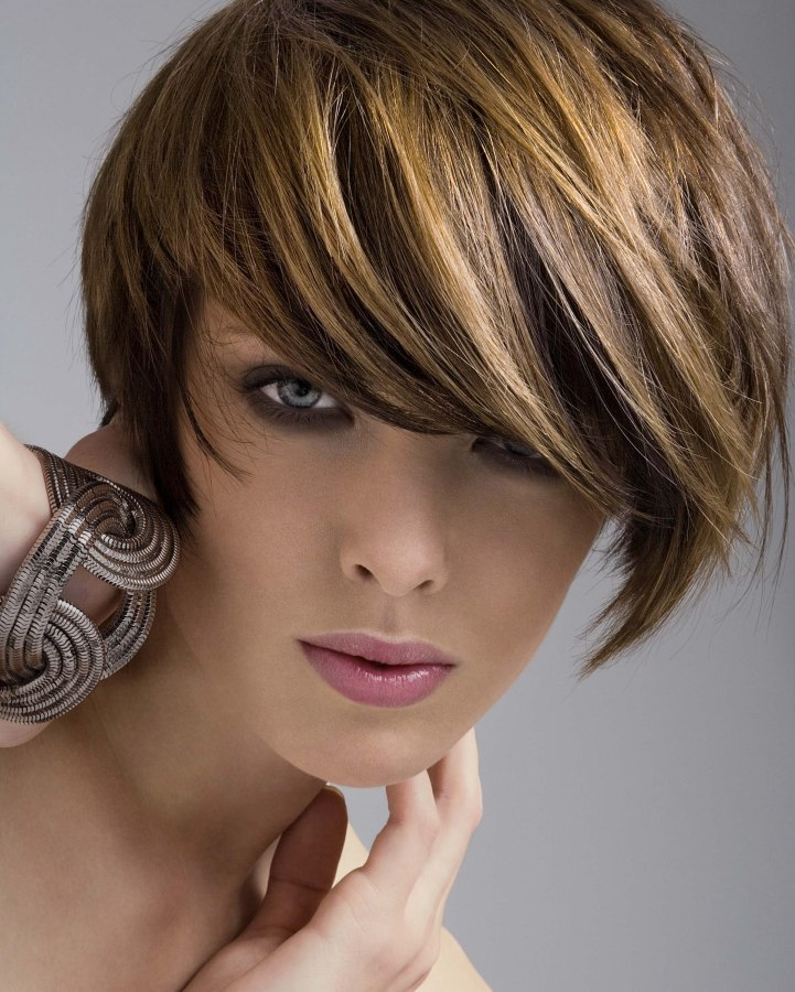 Marvelous Short And Easy To Wear Bob With A Short Graduated Neck Short Hairstyles Gunalazisus