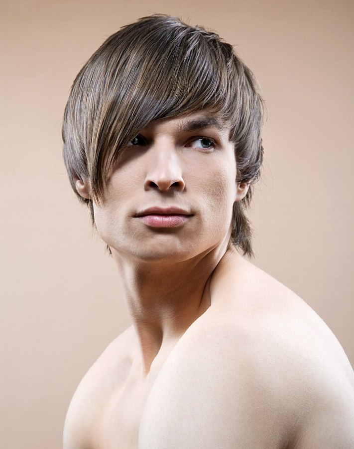 Astonishing Razor Cut Men39S Hairstyle With A Longer Nape Area Short Hairstyles For Black Women Fulllsitofus