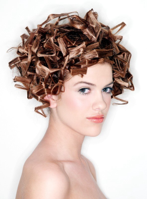 Sci Fi Look Hairstyle Extravagant Wedding Hairstyle