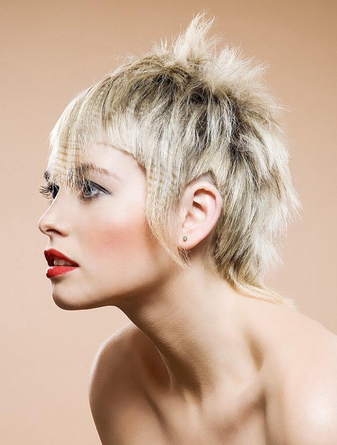 Precision Scissor Cut Avant Garde Hairstyle For Straight Hair