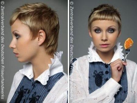 Short Feminine Gar 231 On Haircut That Brings Focus To The Face