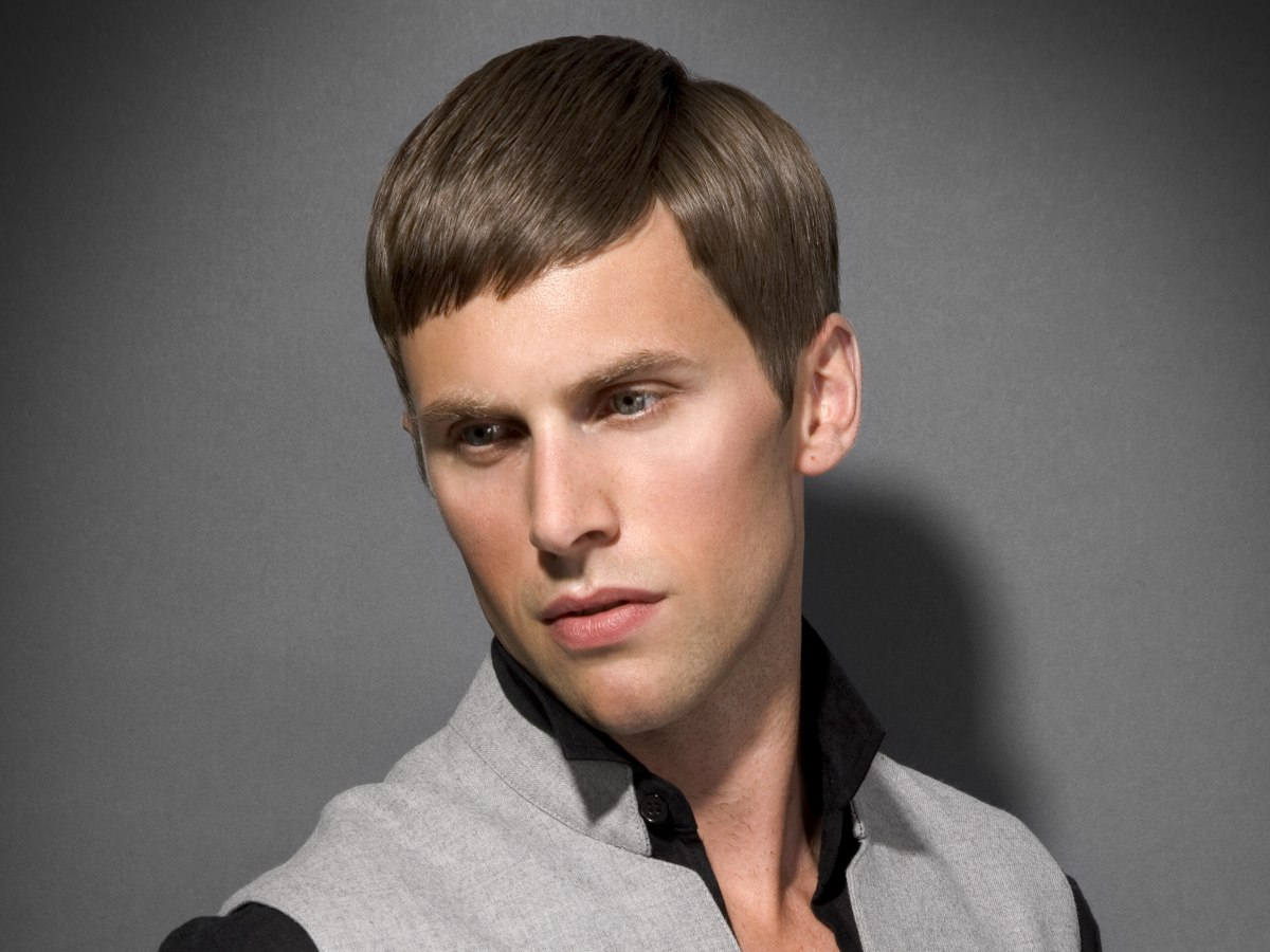Low Maintenance NO Styling Products Mens Hairstyle