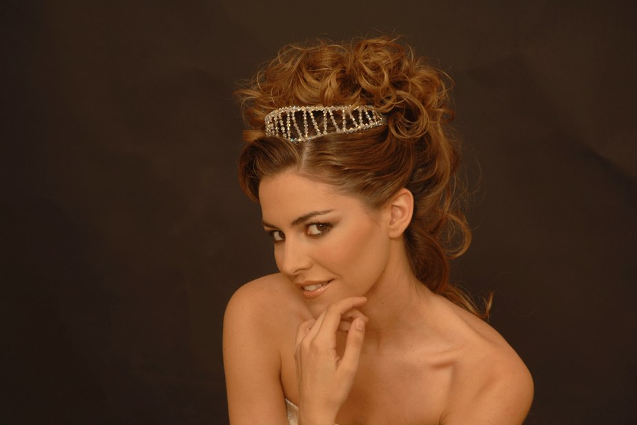 bridal hairstyles tiara. Collection: Wedding Hairstyles