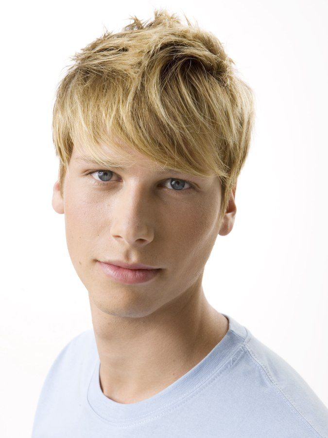 Color And Highlights For Short Hair Short Men's Hair With Color