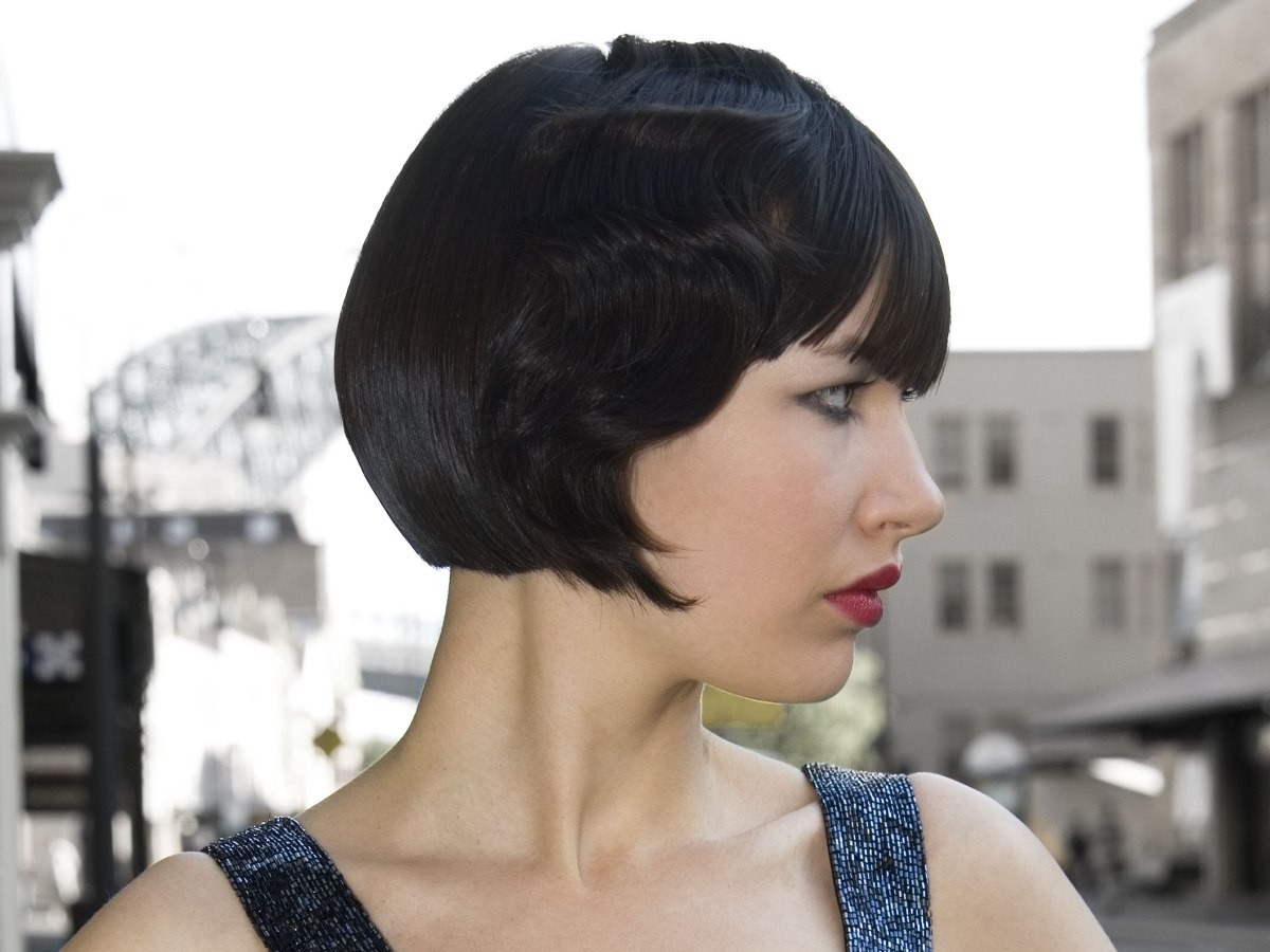 Bob Hairstyle For A Louise Brooks Look