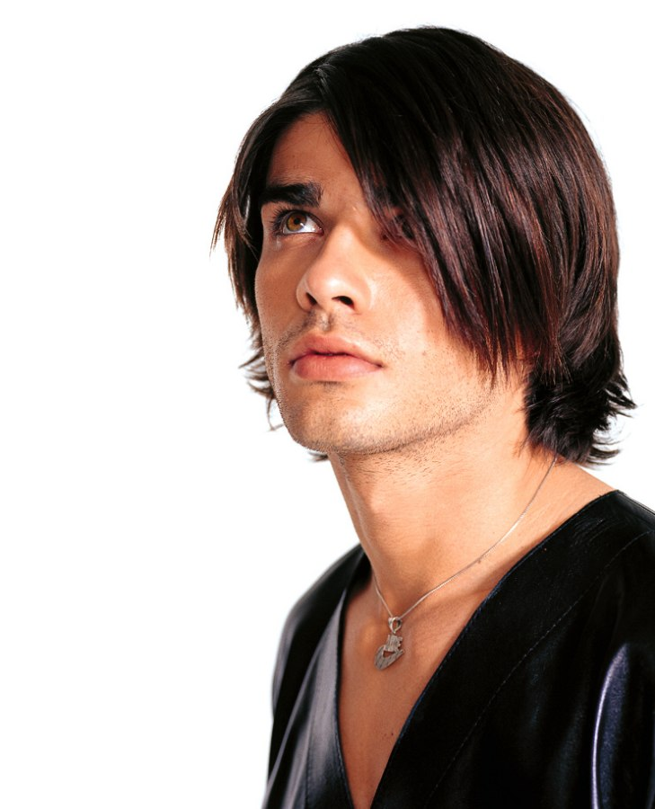 Trendy Haircut For Men With Layers And Long Bangs