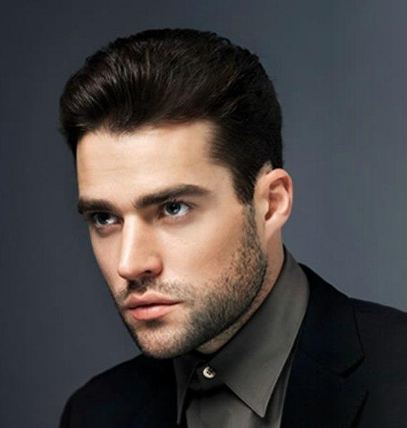 Schwarzkopf Professional. masculine hairstyle