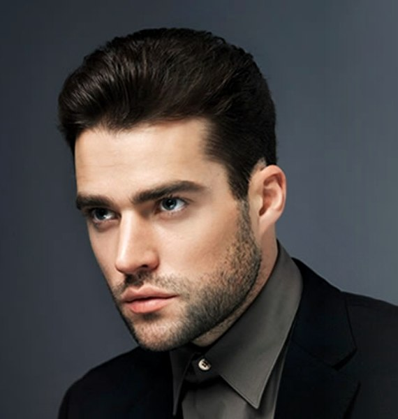 Peachy Flexible Short Cut With Slicked Back Sides For Men Short Hairstyles Gunalazisus