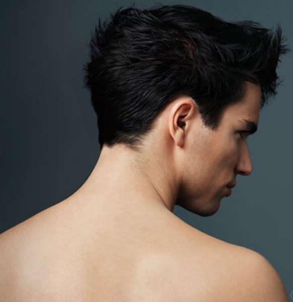 Schwarzkopf Professional. back view - men's hairstyle