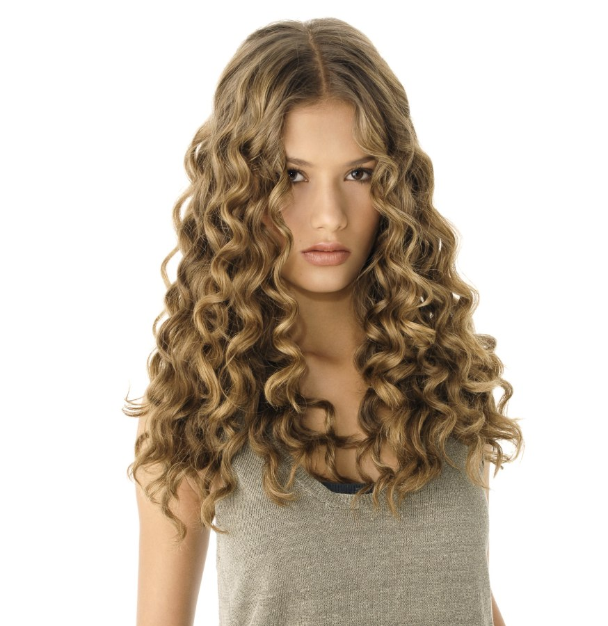 How To Make Corkscrew Curls For Long Hair