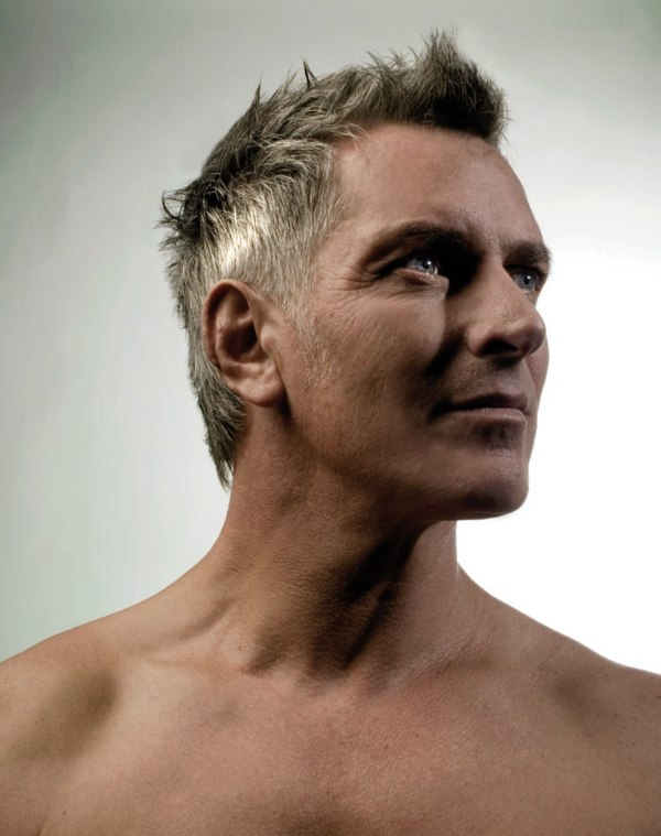 Cool Sexy Haircut For Men With Gray Hair Sporty Or Business Look Hairstyles For Men Maxibearus