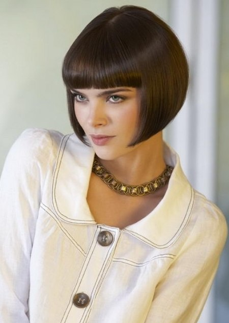 Wondrous Classic Short Bob With A Shorter Neck Area Hairstyles For Men Maxibearus
