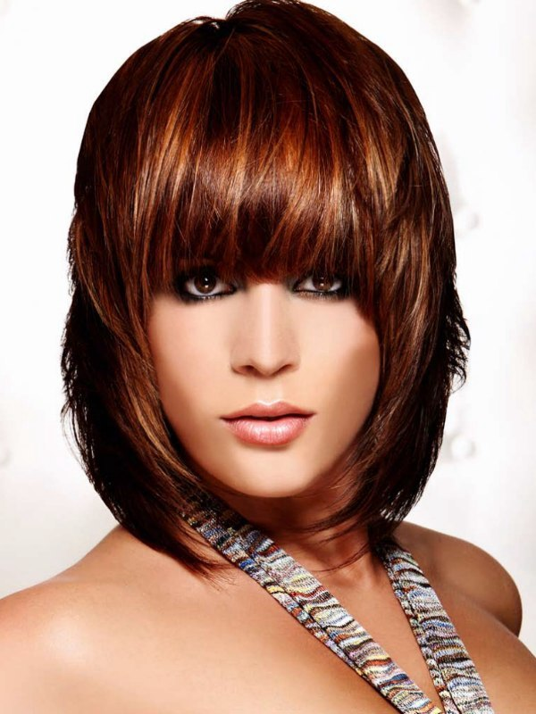bobcut hair styles neck length haircuts with bangs haircuts models ideas 3013