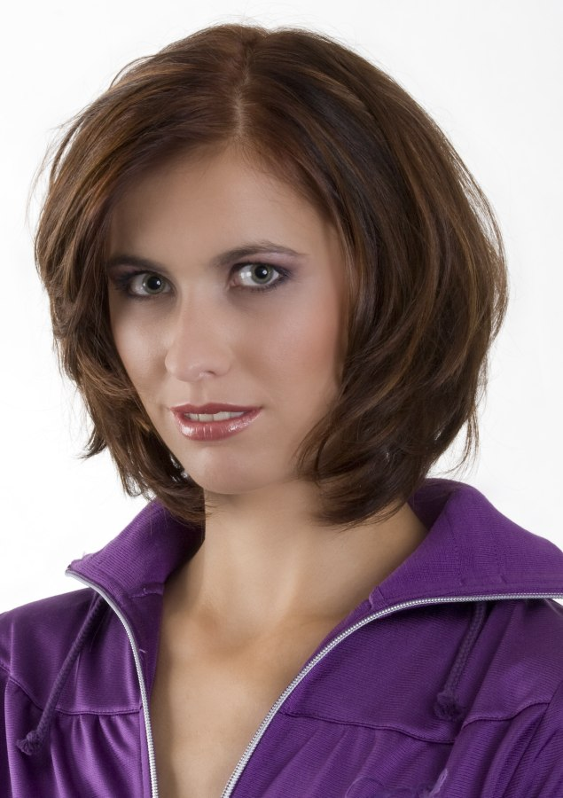 Low Maintenance Neck Length Haircut For Active Women