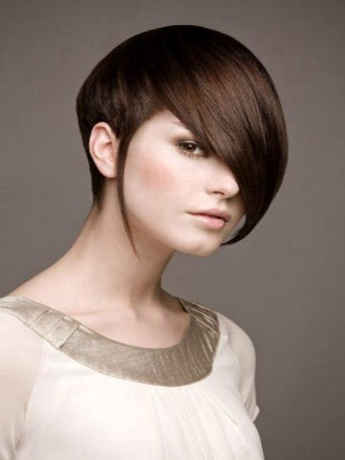 short undercut hair style
