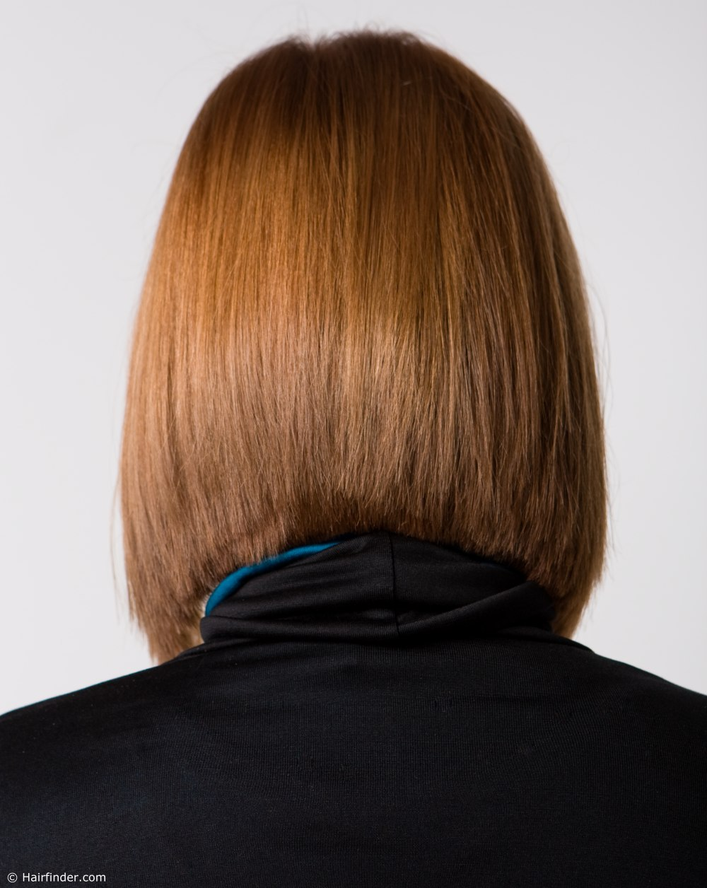 Neck Length Bob With Fine Hair That Lays Smoothly Along