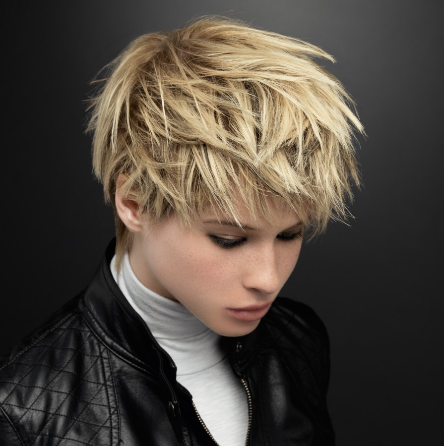 Hairstyles for boys spikes
