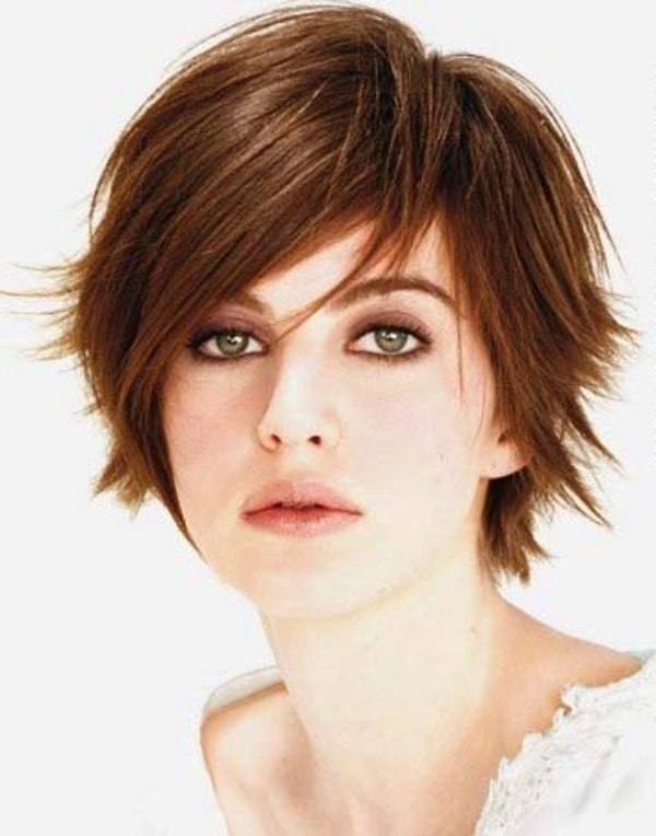 Excellent Feminine Short Tomboy Haircut With Outward Styled Tips Short Hairstyles For Black Women Fulllsitofus