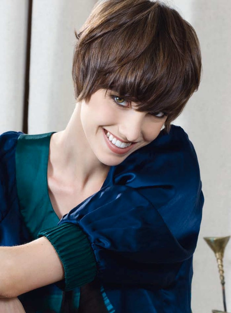 Short Bob Hairstyle That Always Falls Back Into Place