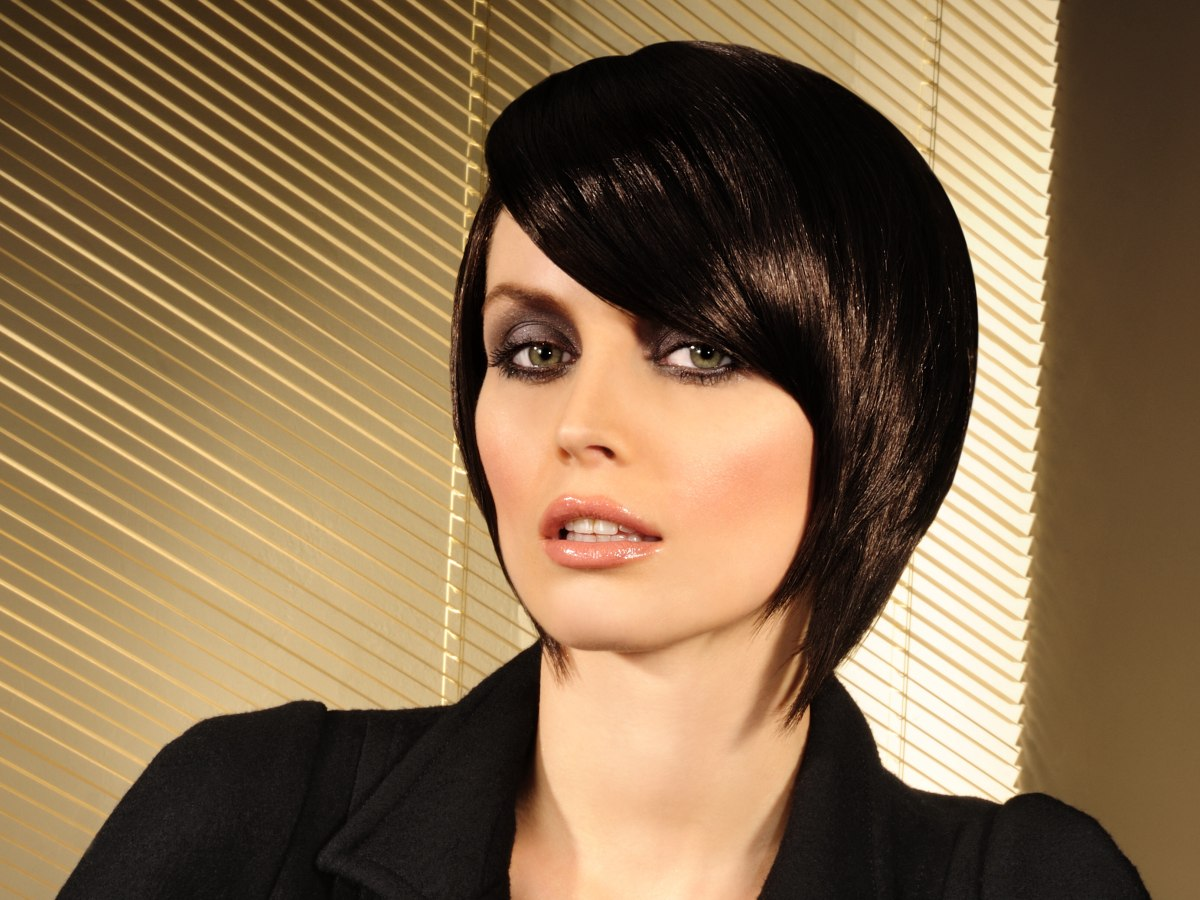 Concave Bob With Elongated Forward Lengths And A Side