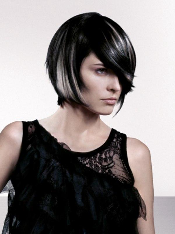 Black Hair With Silver Streaks | www.pixshark.com - Images ...