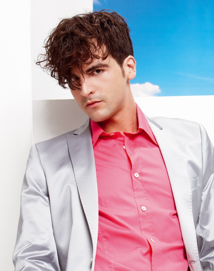 Disco Look For Men Hairstyle