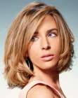 easy medium hairstyle