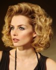 hair style with largte soft curls