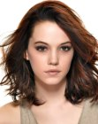 seductive medium length hairstyle